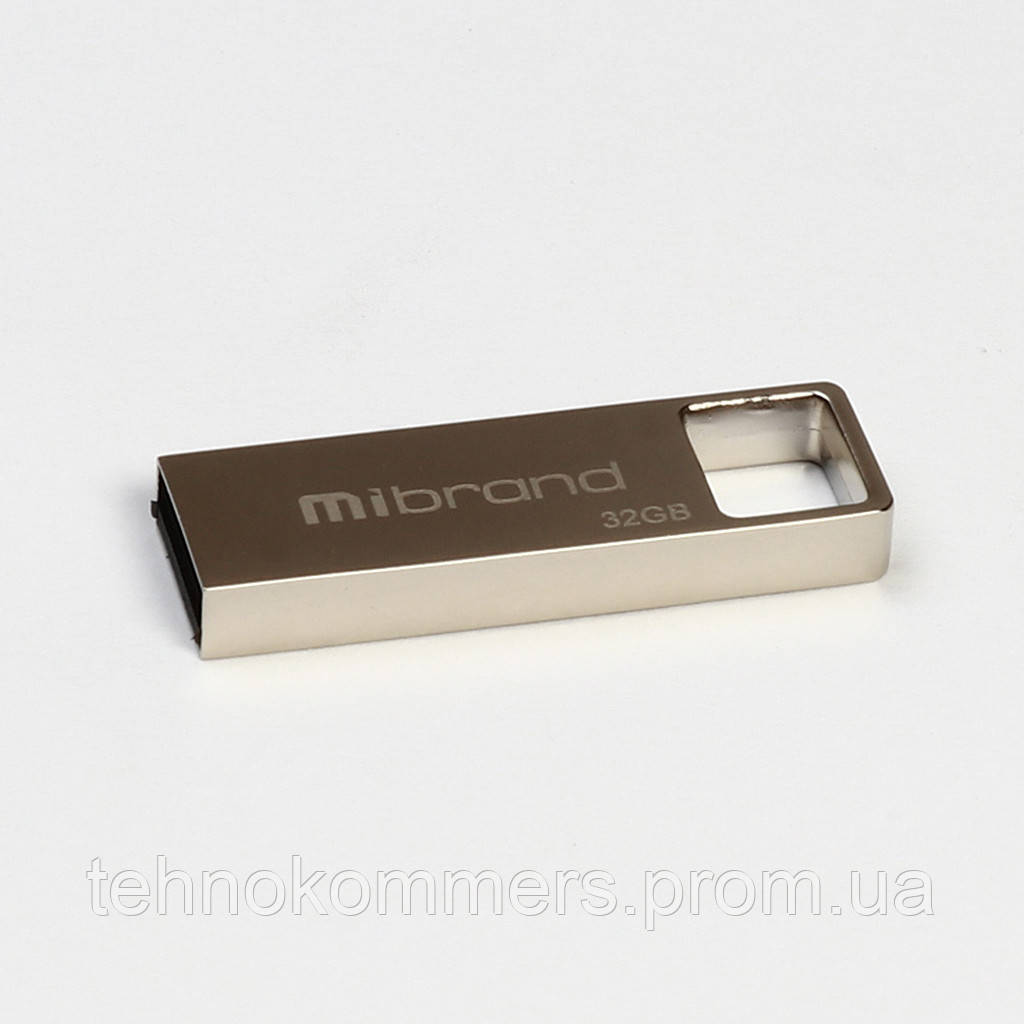 Флеш-накопичувач Mibrand USB2.0 Shark 32GB Silver