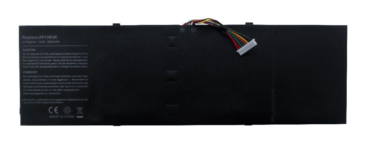 Аккумулятор для ноутбука Acer AP13B3K Aspire V5-472 / 15V 3500mAh / Original Black
