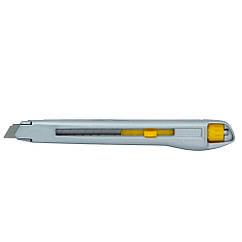 Нож строительный (металлический корпус) лезвие 9мм винтовой замок SIGMA (8213081)