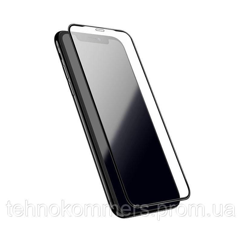 Захисне скло Borofone Elephant series full screen silk screen tempered glass iPhone 11 Pro Max, фото 2