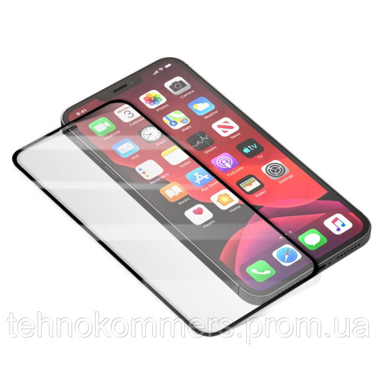 Захисне скло Borofone Elephant series full screen silk screen tempered glass iPhone 12 Max