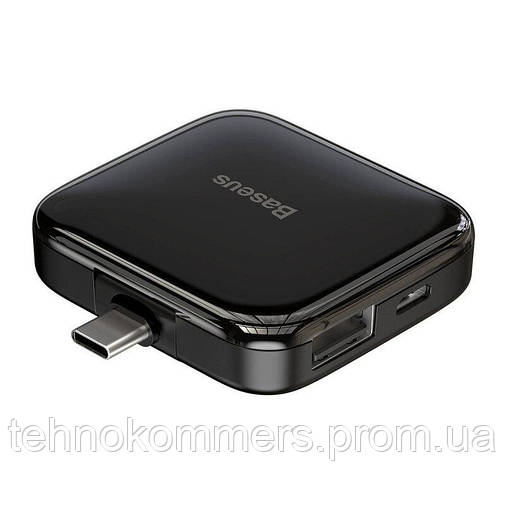USB-хаб Baseus Fully folded Black, фото 2
