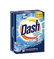 Порошок для стирки Dash белых вещей Alpen Frische 7.15 кг 110 стирок