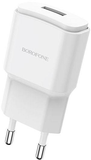 Мережевий зарядний пристрій Borofone BA48A Orion White