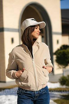 Стильная женская куртка бомбер весна 2021
