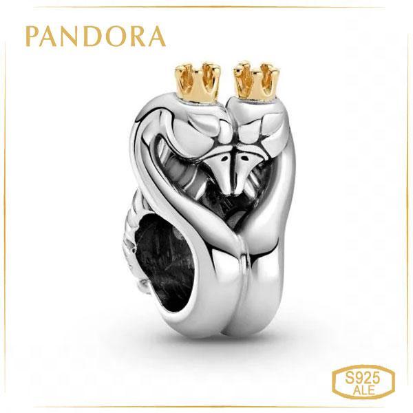 Шарм Пандора Лебеді Позолота Pandora 799315C00