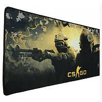Велика ігрова поверхня, килимок 800*300 CS GO, для миші, геймерський Counter-Strike
