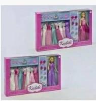 Кукла с нарядами набор игровой платья