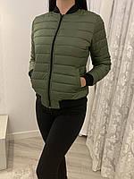 Куртка женская стеганая на молнии