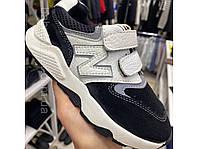 Модні кросівки для хлопчика колір чорний