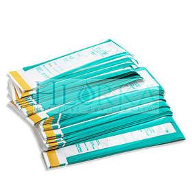 Пакет для паровой, воздушной, этиленоксидной стерилизации КОМБИНИРОВАННЫЙ  100х200 (крафт) 100шт