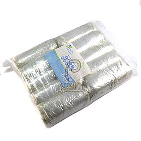Шапочки одноразовые на резинке, полиэтилен (100шт/уп)