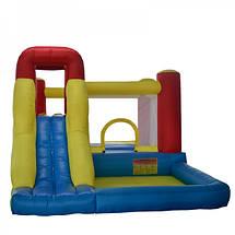 Надувной батут с горкой игровой центр для детей KIDIGO Daydream, фото 3
