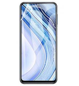 Гидрогелевая пленка для BQ Aquaris X pro Глянцевая противоударная на экран телефона | Полиуретановая пленка