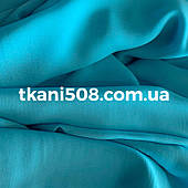 Шифон однотонний(Блакитна Бірюза)