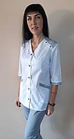 Женский медицинский коттоновый костюм Рондо три четверти рукав
