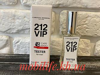 Мужская туалетная вода Carolina Herrera 212 Vip Men (Каролина Эррера 212 Вип Мэн 60мл)/Высокое Качество/