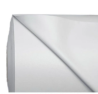 Рулон пвх-ткани для надувных лодок 50х2,05м (дил. 3,85/м2)  светло-серый ПОЛУГЛЯНЕЦ 950гр