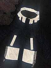 Куртка для девочки светоотражающая р. 122-146 опт