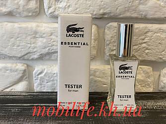 Мужская туалетная вода Lacoste Essential Pour Homme 60мл (Лакост Эссеншиал Пур Хомм)