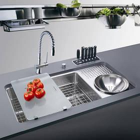 Змішувачі, мийки та аксесуари на кухню