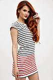 Платье-туника мини без рукавов в полоску (2 расцветки, р.XS,M), фото 8