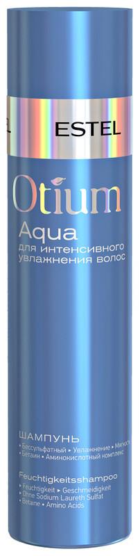 Деликатный шампунь для увлажнения волос Estel Otium Aqua 250 мл.