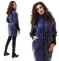 """И0045 Куртка-пальто """"Ромб"""""""