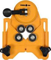 Направляющее устройство для сверления в плитках Ø4-84 мм (крепление на присосках) VOREL 03960 (Польша)