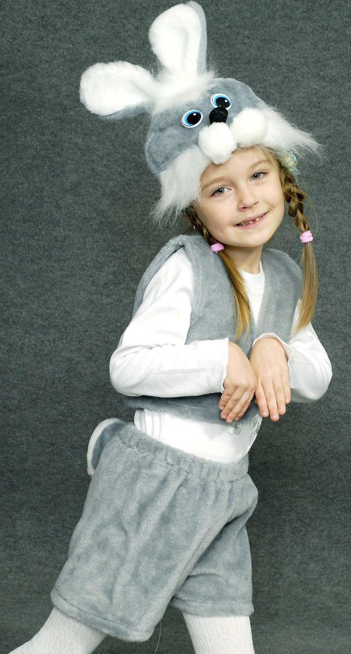 Карнавальний костюм сірого зайчика