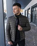 😜 Куртка - Мужская куртка темно-коричнева без капюшона / чоловіча куртка без капюшону темно-коричнева, фото 2