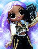 Лялька LOL OMG 24K D. J. - ЛОЛ ОМГ 24К Леді Діджей 574217 L. O. L. Surprise! O. M. G., фото 8