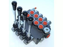 Распределитель гидравлический моноблочный 4-секционный 80л 4Р80 (с НДС)
