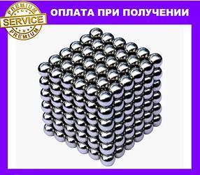 Неокуб, neocube 4,5 мм, нікель - магнітний конструктор-головоломка, магнітні кульки