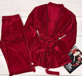 Пижамы женские c штанами.