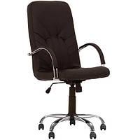 Кресло для руководителя MANAGER (МЕНЕДЖЕР) STEEL CHROME COMFORT ECO, фото 1