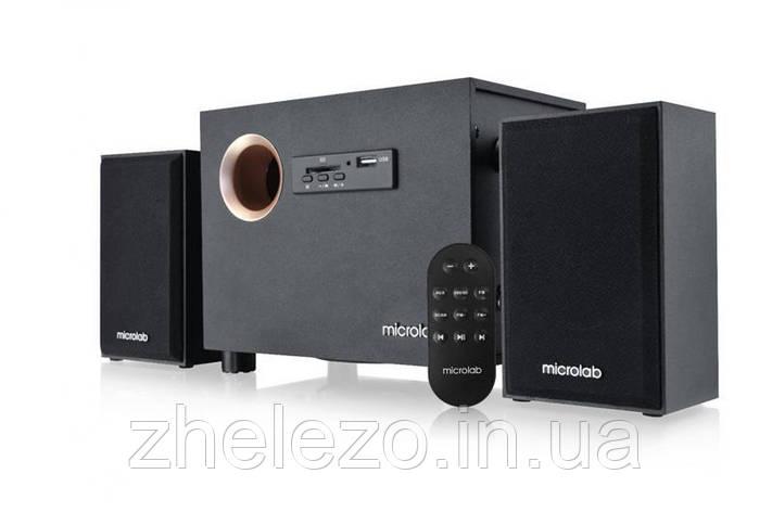 Акустическая система Microlab M-105R Black + ДУ, фото 2