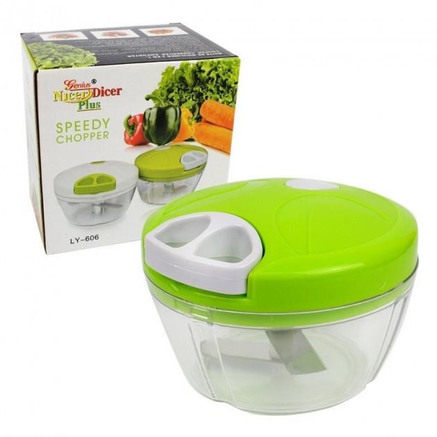 Механический кухонный  измельчитель Easy Spin Cutter для твердых продуктов