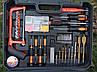 Мультифункциональный набор инструментов для монтажа с дрелью-шуруповертом Набор 50 предметов Makita, фото 5