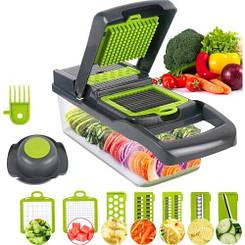 Ручна овочерізка мультислайсер для овочів і фруктів мультирезка терка