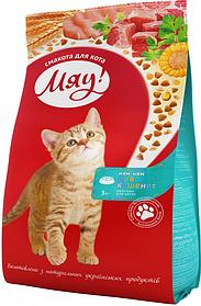 Сухой корм Мяу 0,3кг для котят