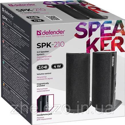 Акустична система Defender SPK-210 Black (65210), фото 2
