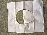 Гігієнічні однаразовие накладки на унітаз, 200 шт, фото 3