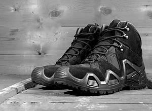 Ботинки тактические ALLIGATOR M-TAC черные