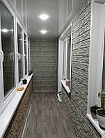 Харьков - Облицовка внутренняя балконов фасадными панелями сайдингом