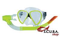 Набор для плавания: маска, трубка