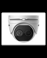 Тепловізійна Двухспектральная Купольна Камера Hikvision DS-2TD1217B-6/PA