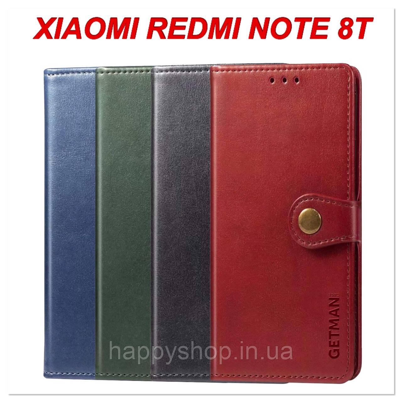 Чохол-книжка GETMAN Gallant для Xiaomi Redmi Note 8T
