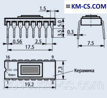 Микросхема КМ1146ФП2 (Квазар-ИС)