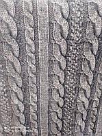 Плед-покривало сіра Коса, 160*220,200*220, 220*240